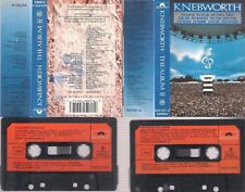KNEBWORTH DIFICULT CASSETTE DOBLE PINK FLOYD GENESIS DIRE STRAITS STATUS QUO