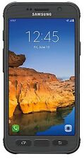 """New"" Samsung Galaxy S7 Active SM-G891A Unlocked GSM Phone  Grey LCD Ghost"