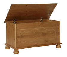 Copenhagen Pine Blanket Box / Storage Chest / Ottoman / Toy Box