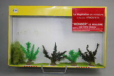 V740 Monber maquette Ho train diorama boite A502 vegetation arbre taille 65 mm