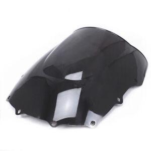 Parabrezza bicolore nero per Kawasaki ZZR400 / 93-07 ZZR600 / 93-04