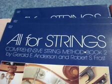 """""""ALL FOR STRINGS"""" BOOK 2 VIOLA BRAND NEW MUSIC BOOK ELEMENTARY METHOD ON SALE!!"""