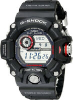 Casio G-Shock Rangeman Solar Atomic 200m Black Resin Watch GW9400-1