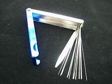 Düsenreinigungsnadeln, mit Feile für Düsen 0,5-1,2mm Nadellängen: ca. 90 mm