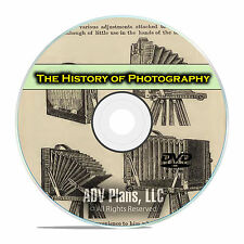 History of Photography Library, 214 Books on American Camera History PDF DVD E68