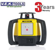LEICA RUGBY Construction Red Beam Rotary Laser Level-3yr AusWrnty-TOPCON STYLE