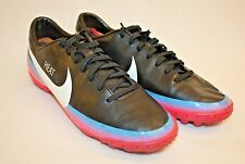 Nike Mercurial Victory III CR TF Black Blue Glow Pink Mens Soccer Cleats Sz 6.5M