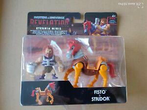 Mattel Masters Of The Universe Eternia Minis Fisto & Stridor NEU Und OVP