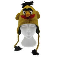 Fun Bert Handmade Laine Animal Chapeau Doublure Polaire Taille Unique, Unisexe