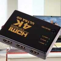 HD for 1080P PC HDTV 4K*2K 3in 1out Switch Splitter TV Switcher Box Ultra HDMI/-