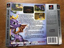 Spyro 2 Gateway a reflejarse PS1 caso embutido