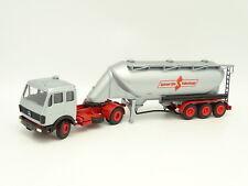 Conrad 1/50 - Mercedes mid Trailer Tank Spitzer Silo