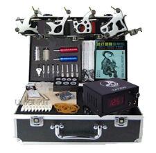 New High Tattoo Equipment Machine Kit Complete Set All Power Tattoo Supplies
