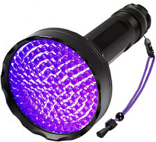 UV Black Light Flashlight 51 LED 395 nm Wavelength Ultraviolet Detector