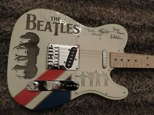 TELECASTER THE BEATLES CUSTOM FENDER PARTSCASTER TRIBUTE TELE GUITAR W GIG BAG