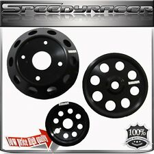 Crank Pulley for 89-98 Nissan 240SX S14 S15 SR20  Aluminum Performance BLACK