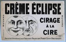 Buvard Publicitaire - Crème Eclipse - Cirage à la cire - Unis-france