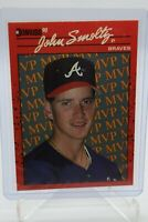 1990 Donruss John Smoltz 'ERROR' BC-12. Tom Glavine In Error.