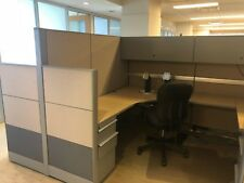 Used Office Cubicles, Knoll Dividends 6.5 x 8 Cubicles