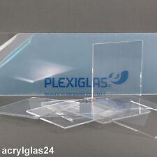 PLEXIGLASSCHEIBE ® m²/32-466€ je DICKE 2-25 mm JEDE GRÖßE - DURCHSICHTIG XT KLAR