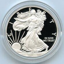 2010 American Eagle Proof Silver Dollar - One Ounce Bullion US Mint 1 oz OGP