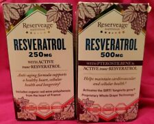 Reserveage Nutrition - Resveratrol with Pterostilbene 500 mg. + 250 mg NEW