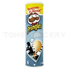 Pringles Salt & Pepper Flavor Potato Chips 165g 5.8oz