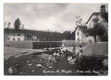 FG00063    BARBERINO  DI  MUGELLO PONTE SULLA STURA  ANIMATA LAVANDAIE  VG 1952