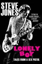 JONES,STEVE-LONELY BOY BOOK NEW