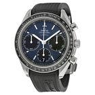 Omega Mens Speedmaster Racing Blue Automatic Swiss Made Watch 32632405003001