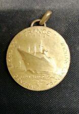 PORTE CLÉS MEDAILLE PAQUEBOT FRANCE 1962 CGT