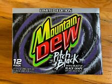 Pitch Black Mountain DEW 12 pack Carton Case Decoration Display Art 04 Original