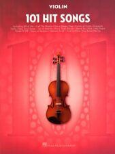 101 Hit Songs Violin aktuelle Pop Songs Noten für Violine Geige