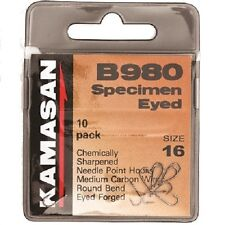 Kamasan B980 Bait Hooks Straight Eye Bronze Finish Barbed * 2019 STOCKS *