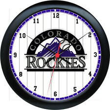 "MLB Colorado Rockies 10"" Wall Clock"