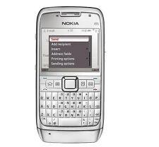 Nokia E Series E71 - White steel (Unlocked) Smartphone WIFI GPS