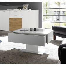Couchtisch Tisch Beistelltisch ARIZONA Weiß matt Lack 70 x 70 cm