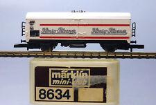 """Märklin Z miniclub 8634; Bierwagen """"König-Pilsener"""" DB, in OVP /E911"""