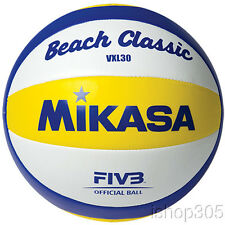 Mikasa Official Replica Olympic Beach Classic Volleyball VXL30