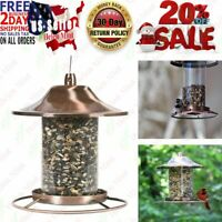 Wild Bird Feeder Hangingn Outdoor Garden Backyard Seed Food Feral Animal
