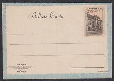ANGOLA, 1951. Aerogramme H&G 5 blue, Mint