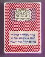 Golden Nugget Playing Cards Sealed
