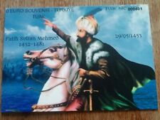 0 Euro Souvenir - Turkey - FOLDER - Limited Edition of 250 pc's - Sultan Mehmed