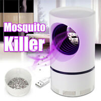 Electric Photocatalytic Mosquito Killer Light LED Lamp Non-Toxic UV Insect Trap