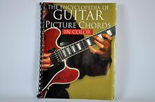 The ENCYCLOPEDIA of GUITAR Picture CHORDS in Color 2001 Spiral Bound Guide