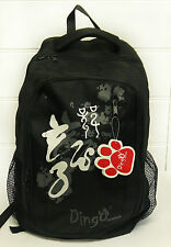 Dingo Black Dragon School Backpack 45 x 32 cm