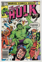 Incredible Hulk #279 (Jan 1983, Marvel) Choose From [Newsstand or Direct] Mantlo