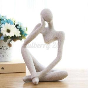 ❤Modern European Thinker Statue Resin Home Forgetive Model Sculpture Decor Gift