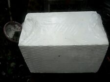 Styrofoam block endless uses  crafts 12 by 12 by 18 inches