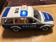 PLAYMOBIL POLICE CAR 4260 with flashing lights